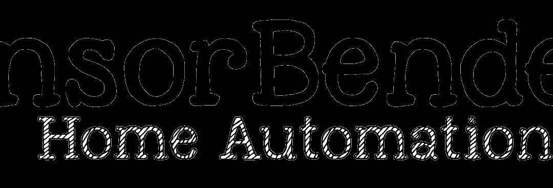 SensorBender-Logo mit Text 289x43